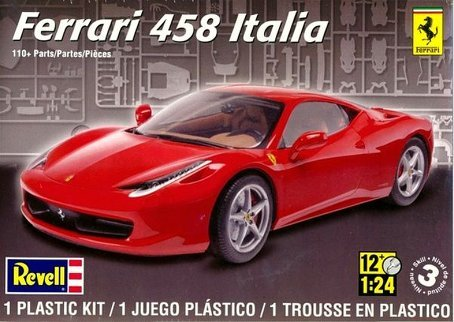 Revell 1:24 Ferrari 458 Italia (Ferrari 458 Italia Model compare prices)