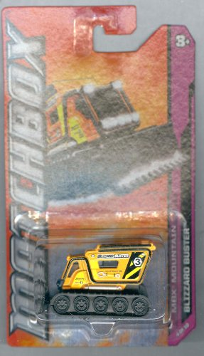 Matchbox 2012 MBX Mountain Blizzard Buster (Snow Track Vehicle) ORANGE 1:64 Scale - 1