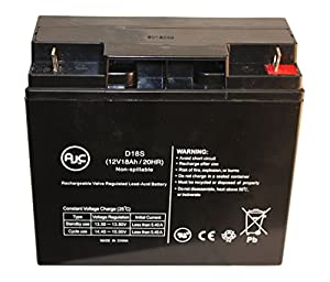 Panasonic LC-RD1217P 12V 18Ah Wheelchair Battery : Replacement