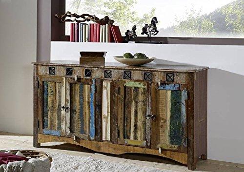 Viejo roble macizo multicolor Muebles macizos Madera Aparador De madera maciza Muebles Macizo Spirit #40