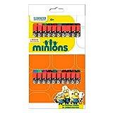 24 Minions Jumbo Wax Crayons