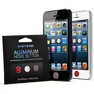 【国内正規代理店品】 SPIGEN SGP アルミニウム ホームボタン2 [RSG] for iPhone & iPad SGP10087