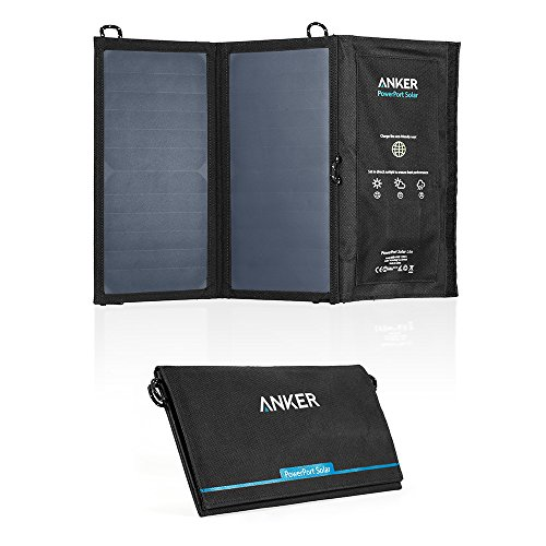 Anker PowerPort Solar Lite (15W 2ポート USB ソーラーチャージャー) iPhone 6 / 6 Plus / iPad Air 2 / mini 3 / Xperia / Galaxy S6 / S6 Edge / Android各種他対応 【PowerIQ搭載】