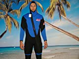 New 2 Piece 7 Mm Farmer John Style Wetsuit, Size 6xl, Surf, Dive, Scuba, Gold Dredge #8900