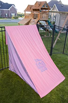 3706008-septcon Fence Fort Portable And Fun Child Fort Pinkpurple from Fence Fort