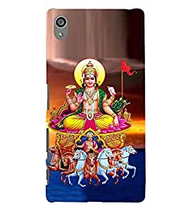 printtech Lord Goddess Devi Back Case Cover for Sony Xperia Z5 Premium Dual