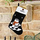 Cincinnati Bengals Snowman Fabric Stocking at Amazon.com