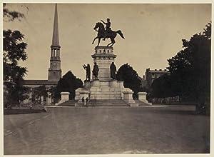 Photo: Statue,George Washington,Capitol Square,Richmond,VA