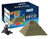 Hydor Deco Ornament Kit, Pyramid, Multi-Color LED