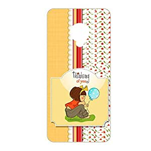 Vibhar printed case back cover for Xiaomi RedMi Note Prime ThinkingOfYou