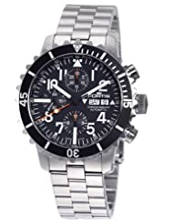 Buy Cheap Fortis Men's 671.10.41M B-42 Marinemaster Automatic Chronograph Black Dial Watch Limited time