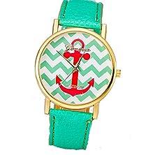 buy Shot-In Fashion Ladies Geneva Woman Analog Quartz Wrist Watches (Mint Green)