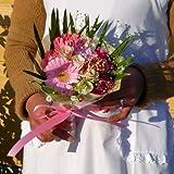 148【お祝い、誕生日、ギフト】【花束】ミニ花束・ピンク系