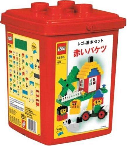 レゴ 基本セット 赤いバケツ 7336