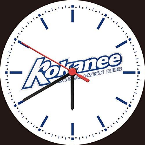 kokanee-glacier-fresh-beer-logo-bar-wall-clock