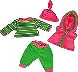 Bayer Design 8462000 - Kleidung für Puppen, Shirt mit Hose...