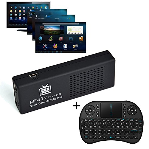 Lowest Prices! [Free Wireless keyboard + Mouse] J-Deal® MK808b Plus (MK808B+) XBMC TV Stick Android...