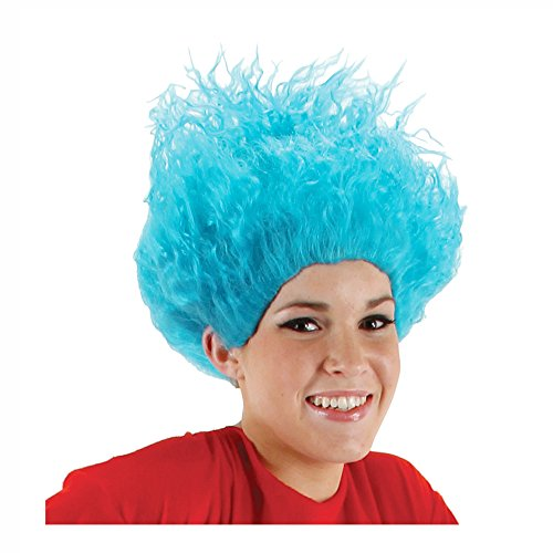 Morris Costumes Dr Seuss Thing 1 Thing 2 Wig
