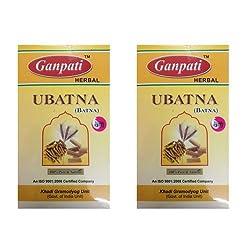Khadi Certified Ganpati Herbal Ubatna - Haldi, Chandan, Besan, etc. - 2 x 200 gms