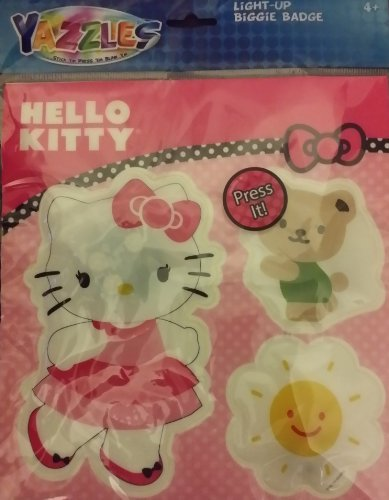 Hello Kitty Light-Up Biggie Badges - 1