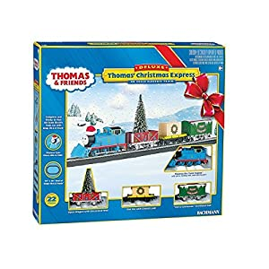 Bachmann Industries Thomas' Christmas Express Ready To Run Electric Train Set