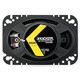 2) Kicker 41DSC4604 D-Series 4x6 Inch 240 Watt 4-Ohm 2-Way Car Coaxial Speakers