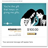 Amazon Gift Card - E-mail - Just Because (Gift Keeps Giving) [Someecards] ~ Amazon