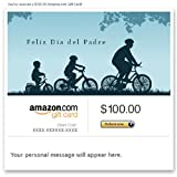 Amazon Gift Card - Email - Feliz Dia del Padre (Bicycling)