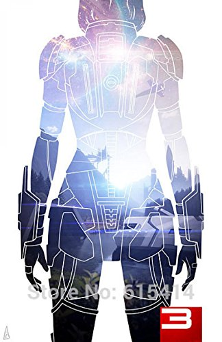canvas-print-art16x12inchwith-3-cm-inner-frame-mass-effectme-killer-fighting-shooting-hot-tv-game