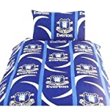 Everton Football Duvet/Quilt Cover Bedding Set (Single Bed)