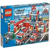 Lego - City - jeu de construction - La caserne de pompiers
