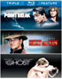 Patrick Swayze Triple Feature (Next of Kin / Ghost / Point Break) [Blu-ray]