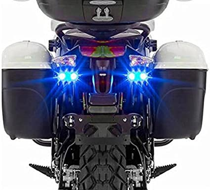 Speedwav Sleek Twin LED Flasher Lights Blue- For Bikes By Amazon @ Rs.441