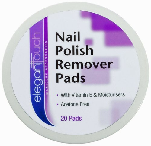 Elegant Touch Nail Polish Remover Pots