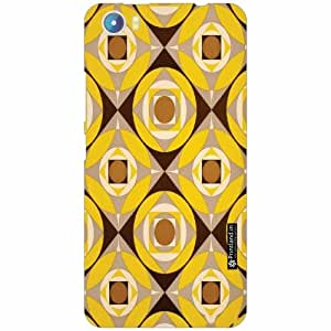 Micromax Canvas Fire 4 A107 Back Cover - Silicon Pattern Art Designer Cases