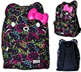 Hello Kitty Neon All Over Print Backpack with ears