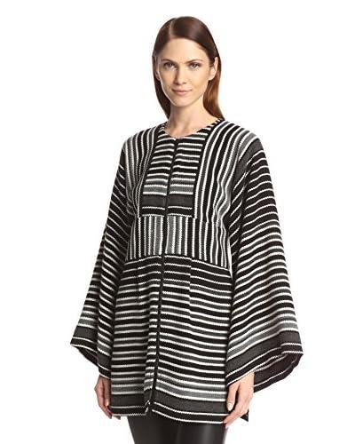 Anna Sui Women's Blanket Stripe Tunic Sweater