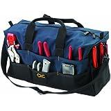 Custom Leathercraft 1113 Extra Large Tote Bag, 17-Pocket