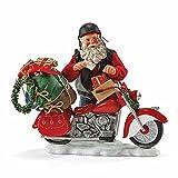 Possible Dreams Santa - Holiday Hog - Santa with Motorcycle