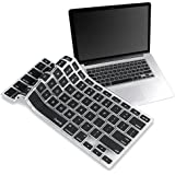 IVEA Silicone skin cover protector for Apple Wireless Bluetooth keyboard - Black