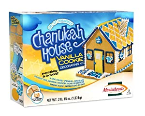 Manischewitz Do-It-Yourself Chanukah House Vanilla Cookie Decorating Kit