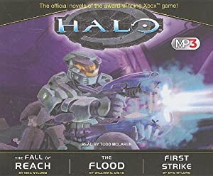 Halo MP3 Boxed Set: The Fall of Reach The Flood First Strike by William C. Dietz, Eric Nylund and Todd McLaren