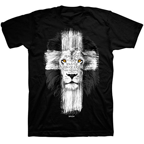 Lion-Cross-T-Shirt