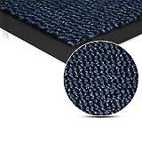 Fussmatte Schmutzfangmatte Fussmatten Schmutzmatte Türmatte waschbar BLAU 90x150cm Schmutzfangläufer Matte