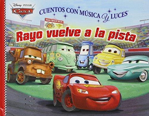 Cars - Libro De Cuentos Con Música Y Luces