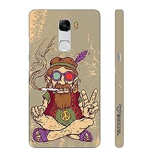 Huawei Honor 7 Ganja Babe designer mobile hard shell case by Enthopia