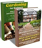 Homesteading For Beginners BOX SET 2 IN 1: A Detailed Guide Earn Money Homesteading + 30 Tips To Grow Organic And Delicious Vegetables And Fruits: (Beginners ... To Build A Backyard Farm, Urban Gardening)