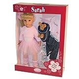 "Gotz 19.5"" Ballerina Sarah Doll with Blonde hair and Blue Eyes ~ International Playthings"