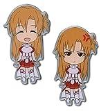 Sword Art Online Anime S.A.O. Happy & Angry Asuna Pin Set