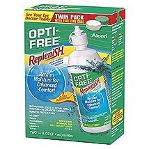 Opti-free Replenish 2 x 14 oz pack